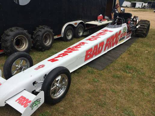 Travis Oakes Top Fuel Bad Frog