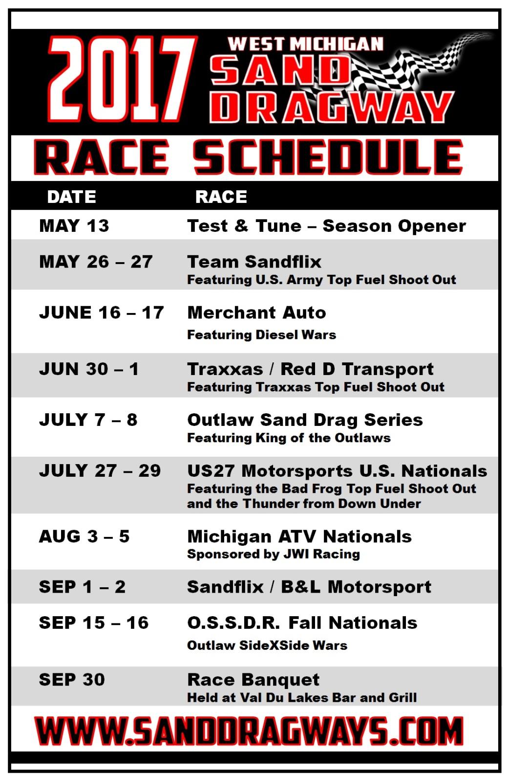 WMSD 2017 Schedule